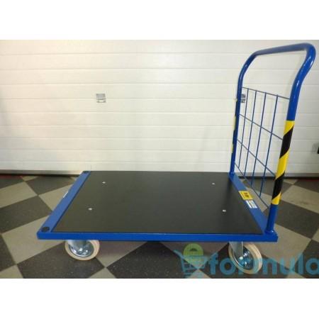 Wózek platformowy (103 x 60,5 cm), transportowy, magazynowy, ROMEK K-1 Krajowy Wózki platformowe - 4store.pl