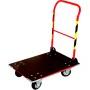 Wózek platformowy, składany (70 x 48 cm), transportowy, magazynowy, ROMEK VI Krajowy Wózki platformowe - 4store.pl