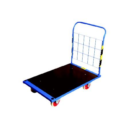 Wózek platformowy (125 x 80 cm), transportowy, magazynowy, ROMEK III Krajowy Wózki platformowe - 4store.pl