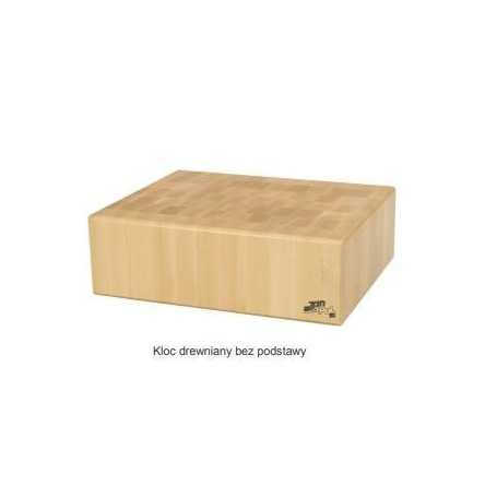 Blat do kloca 40x40x15 cm masarskiego, z drewna bukowego, rzeźniczy, kloc masarski Krajowy Kloce, deski do krojenia - 4store.pl