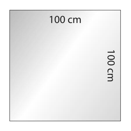 Osłona z plexi do ochrony przed koronawirusem 100x100cm  Sprzęt i środki ochrony przed Koronawirusem - 4store.pl
