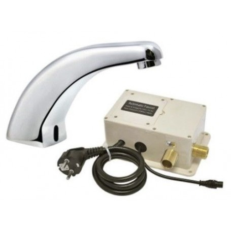 Bateria Kran bezdotykowy na fotokomórkę AG-3180  Sprzęt i środki ochrony przed Koronawirusem - 4store.pl