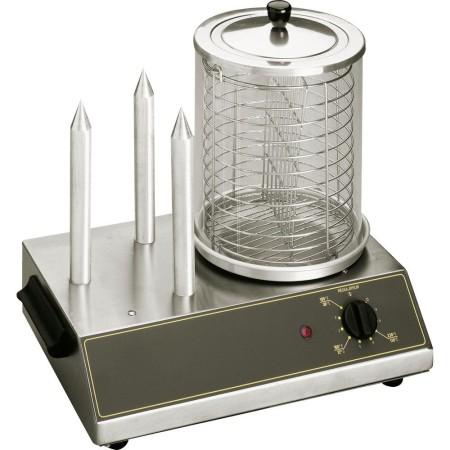 Urządzenie do hot-dogów (podgrzewacz do parówek + 3 szpikulce) Roller Grill Roller Grill Rollery do hot-dogów - 4store.pl
