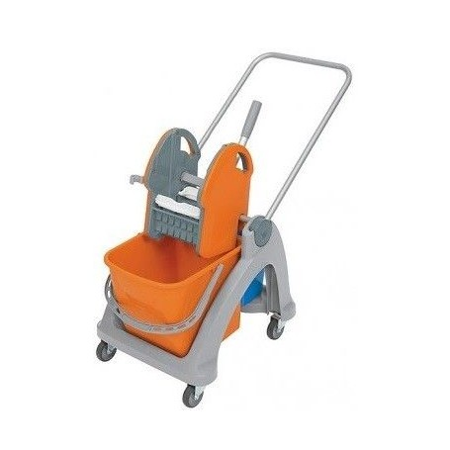 Wózek do sprzątania 1-wiaderkowy SPLAST TS-0001 25 Litrów Krajowy Wiadra, wózki, mopy - 4store.pl