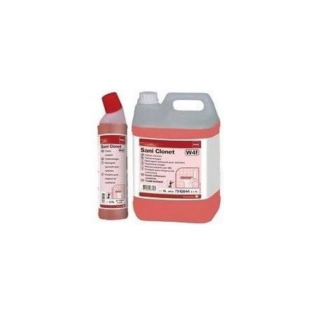 TASKI SANI CLONET 10 l – czyszczenie gruntowne - silny środek stworzony na bazie wyważonej mieszanki kwasów organicznych Krajowy