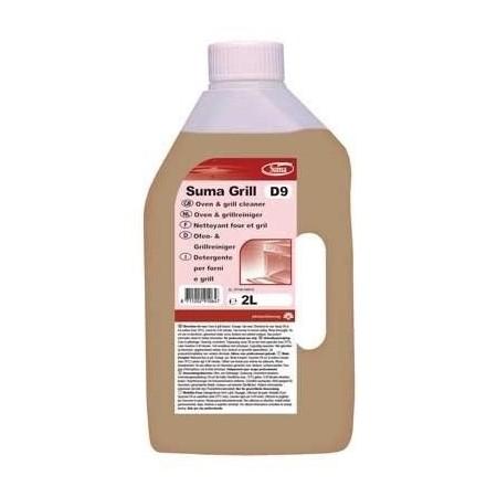 SUMA GRILL D9 2 litry - silnie alkaliczny środek do gruntownego czyszczenia grillów, pieców, piekarników Krajowy Chemia, płyny,