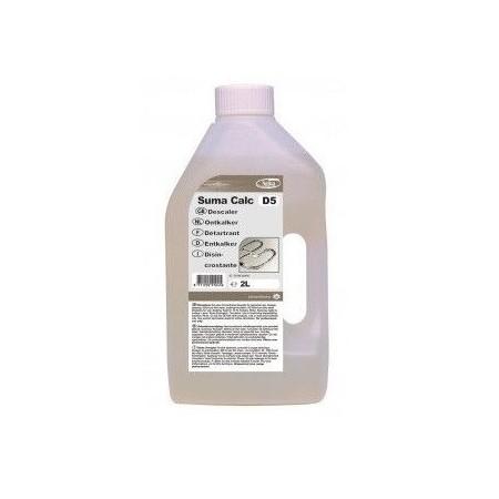 SUMA CALC D5 2 litry - skoncentrowany odkamieniacz o dużej sile działania na bazie kwasu fosforowego Krajowy Chemia, płyny, mydł