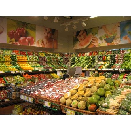 Regał na owoce i warzywa VK Van Keulen Regały przyścienne na o/w - 4store.pl