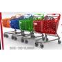 Wózek sklepowy Rabtrolley Samba GLAMOUR 130L, różne kolory Rabtrolley Wózki z tworzywa - 4store.pl