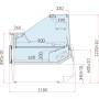 Lada chłodnicza LUZON DEEP 0.94 z agregatem wewnętrznym Igloo Lady chłodnicze z agregatem wewnętrznym - Plug-in - 4store.pl