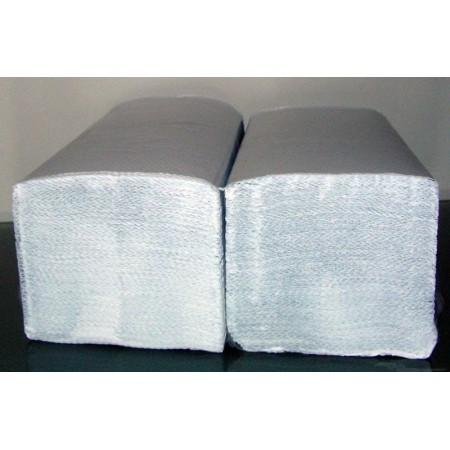 Ręczniki składane ZZ Lamix, 4000 szt. 1-warstwowe, BIAŁE, bezzapachowe i niepylące Krajowy Papier, tacki, torby - 4store.pl
