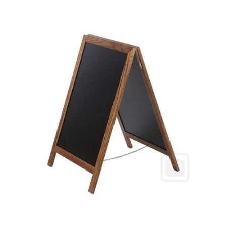 Potykacz 118 x 47 cm, tablica reklamowa, drewniany, dwustronny, szerokość ramki 3,5 cm Krajowy Tablice i gabloty - 4store.pl