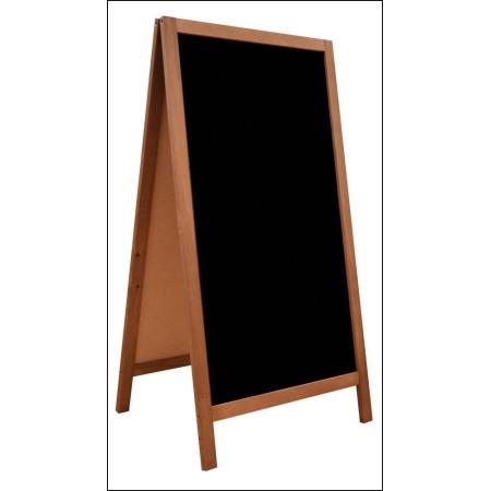 Potykacz 115 x 60 cm, tablica reklamowa, drewniany, dwustronny, szerokość ramki 3,5 cm Krajowy Tablice i gabloty - 4store.pl