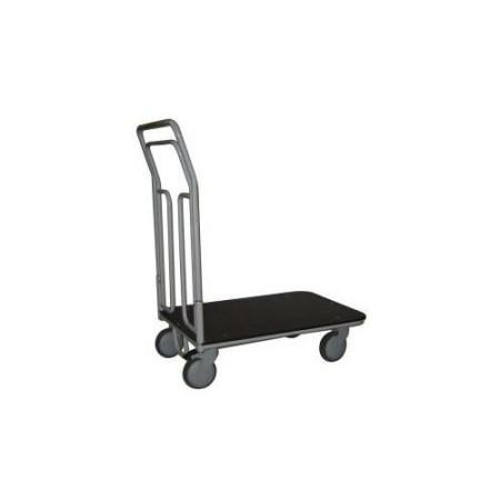 Wózek platformowy do uniwersalnych zastosowań 100 kg koła Tango Ø125 WRN2-010/02.1 ZAKREM Wózki platformowe - 4store.pl