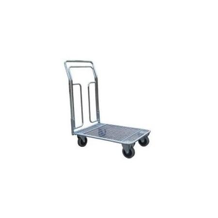 Wózek platformowy do uniwersalnych zastosowań 100 kg koła Ø125 WRN2-010/02.3 ocynkowany ZAKREM Wózki platformowe - 4store.pl