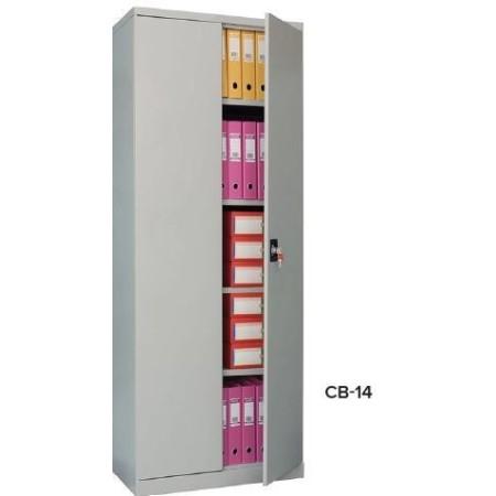 Szafa metalowa aktowa z drzwiami otwieranymi CB-14 Krajowy Szafy BHP i skrytkowe - 4store.pl