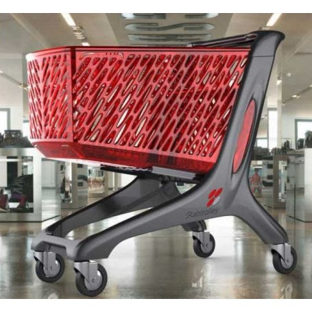 Wózek sklepowy Maxi Eco 210 litrów, Rabtrolley Rabtrolley Wózki z tworzywa - 4store.pl
