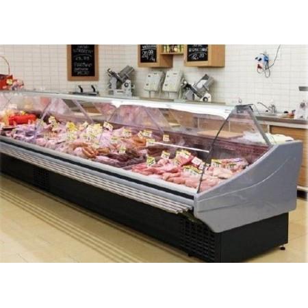 Lada chłodnicza na mięso, wędliny, sery:  Bolarus Maxi (6,25 mb z bokami) Bolarus Lady chłodnicze z agregatem wewnętrznym - Plug