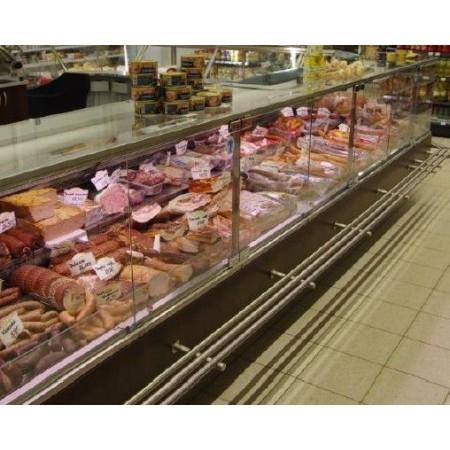 Lada chłodnicza na mięso, wędliny, sery:  Bolarus Maxi SQ(6,25 mb z bokami) Bolarus Lady chłodnicze z agregatem wewnętrznym - Pl