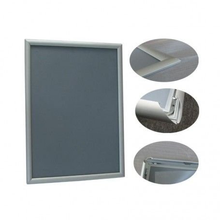 Rama aluminiowa B1, zatrzaskowa, klik-klak, owz, format B1 (700 x 1000 mm) Krajowy Ramy owz, listwy, potykacze - 4store.pl