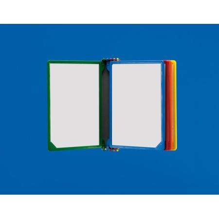 Przeglądarka informacyjna, naścienna, książkowa, do cen, 10 lub 5 ramek A4 Krajowy Podajniki na zrywki, gazetki, lustra - 4store