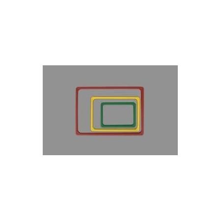 Ramka plakatowa, plastikowa A4, różne kolory (biały, żółty, czerwony, zielony, niebieski, pomarańczowy, szary) Kon-Plast Ramy ow