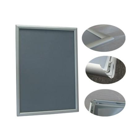 Rama aluminiowa A2, zatrzaskowa, klik-klak, format  A2  (420 x 594 mm) Krajowy Ramy owz, listwy, potykacze - 4store.pl