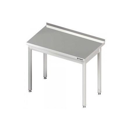 Stół ze stali nierdzewnej, dł. 60 cm, gł. 60 cm,  skręcany Stalgast Sp. z o.o. Stoły nierdzewne - 4store.pl