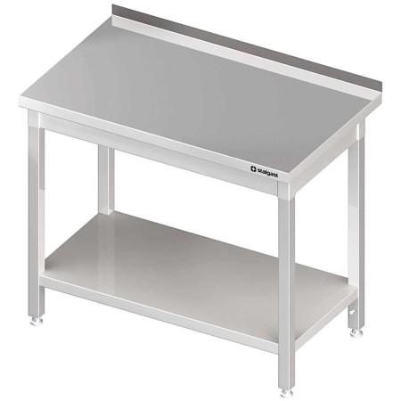 Stół ze stali nierdzewnej, dł. 120 cm, gł. 60 cm, skręcany Stalgast Sp. z o.o. Stoły nierdzewne - 4store.pl