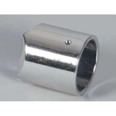 Mufa metalizowana do stojaka z rury Ø 48 mm element wygrodzenia (systemu prowadzenia klienta) Damix Bramki, barierki - 4store.pl