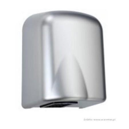 Elektryczna suszarka do rąk MidiFlow plastikowa srebrna, 225x160x282 Krajowy Suszarki do rąk - 4store.pl