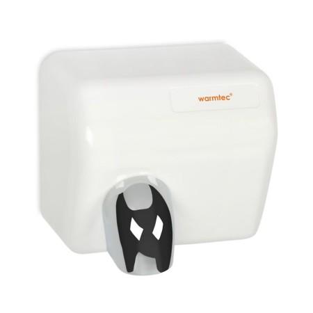 Elektryczna suszarka do rąk BarrelFlow z tworzywa ABS biała, 2500W Krajowy Suszarki do rąk - 4store.pl