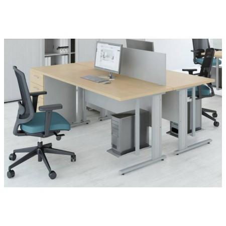 Biurko proste, do biura, na zaplecze, do domu, różne szerokości Krajowy Meble i krzesła - 4store.pl