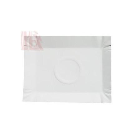 Tacki uniwersalne 20x14x3,5cm, tektura lita, bielona, opak: 250 szt. Krajowy Papier, tacki, torby - 4store.pl