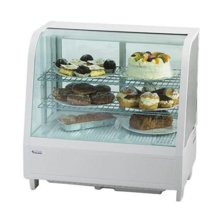 Witryna chłodnicza 100 litrów, na ciasta, kanapki, sałatki, 3 poziomy, biała Stalgast Sp. z o.o. Witryny cukiernicze - 4store.pl
