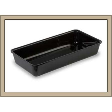 Pojemnik z plexi, 28x14x5 cm, czarny, ekspozycyjny, system 28, Dupont Dupont Pojemniki z plexi - 4store.pl