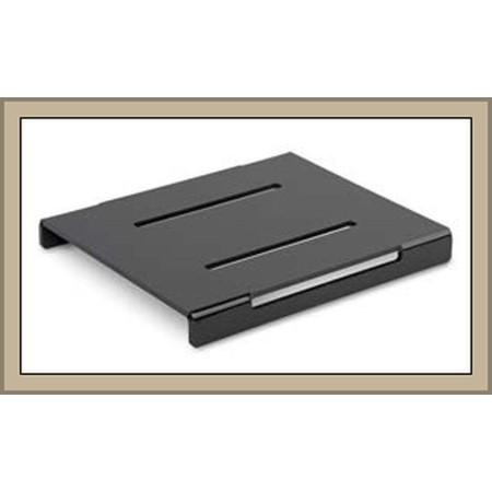 Kaskada (schodek, stopień) 1-poziomowa, 260x220x30mm do prezentacji w ladzie, czarna plexi Dupont Kaskady (schodki) - 4store.pl