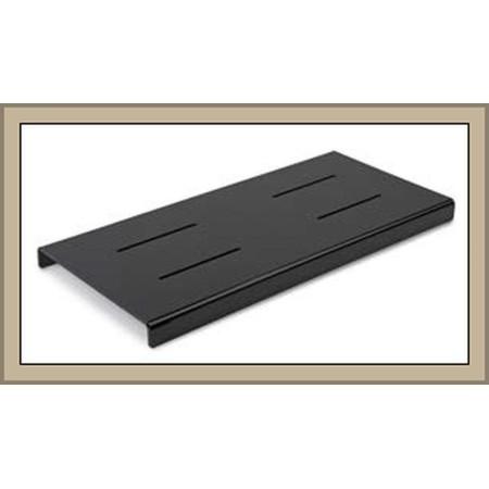 Kaskada 624x280x35mm, czarna plexi, (schodek, stopień) 1-poziomowa,   do prezentacji w ladzie Krajowy Kaskady (schodki) - 4store