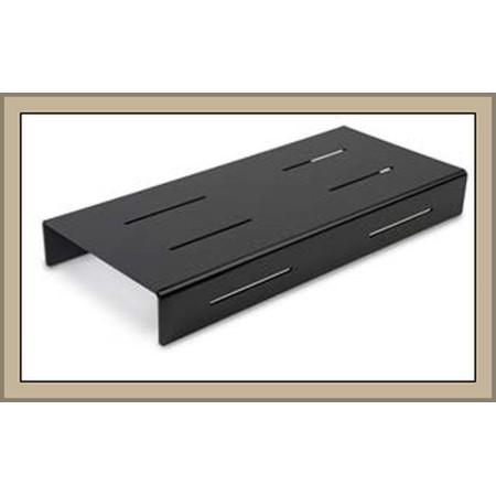 Kaskada 624x280x75mm, czarna plexi, (schodek, stopień) 1-poziomowa, do prezentacji w ladzie Krajowy Kaskady (schodki) - 4store.p
