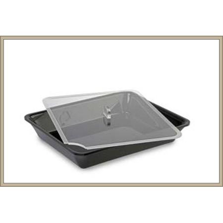 Pokrywka z plexi, GN 1/2 na pojemnik ekspozycyjny/gastronomiczny ,  265x325 mm, Dupont Dupont Pojemniki z plexi - 4store.pl