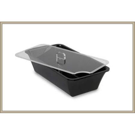 Pokrywka z plexi ,   GN 1/3 na pojemnik ekspozycyjny/gastronomiczny  - 325x176 mm, Dupont Dupont Pojemniki z plexi - 4store.pl