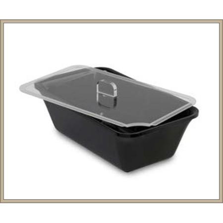 Pokrywka z plexi, GN 1/4 na pojemnik ekspozycyjny/gastronomiczny, 265x162 mm, Dupont Dupont Pojemniki z plexi - 4store.pl