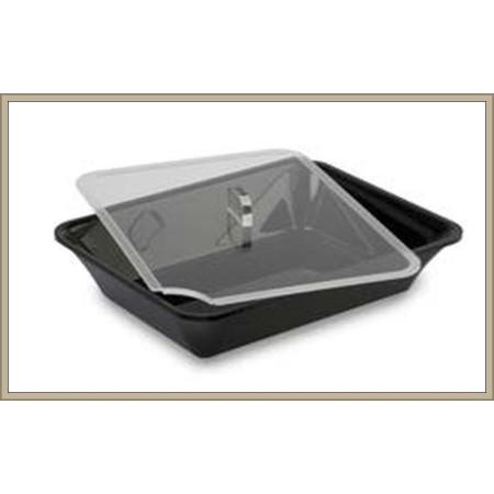 Pokrywka  z plexi, GN 1/5 na pojemnik ekspozycyjny/gastronomiczny, 265x200 mm, Dupont Dupont Pojemniki z plexi - 4store.pl