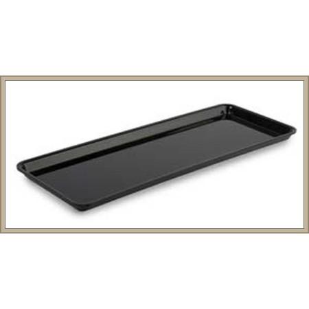 Pojemnik   GN 2/5 -  53x20 cm, plexi,   wysokość  17mm  kolor czarny/biały/bordowy, Dupont Dupont Pojemniki z plexi - 4store.pl