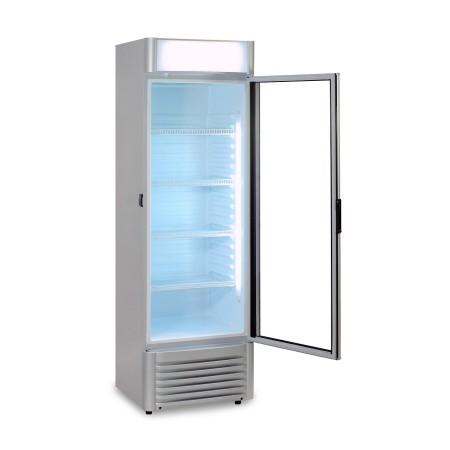 Szafa chłodnicza 350 litrów, przeszklone drzwi, fabrycznie nowa, R600a Krajowy Szafy chłodnicze na napoje - 4store.pl