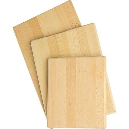 Deska do krojenia drewniana 50x30x2 Stalgast Stalgast Sp. z o.o. Kloce, deski do krojenia - 4store.pl