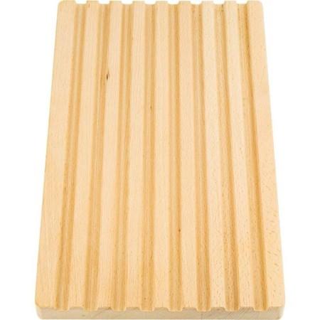 Deska drewniana do chleba z rowkami 40x25  cm Stalgast Sp. z o.o. Kloce, deski do krojenia - 4store.pl