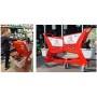 Wózek sklepowy z tworzywa 80 litrów Mini Basic, z miejscem dla pupila (pet boxem), Rabtrolley Rabtrolley Wózki z tworzywa - 4sto