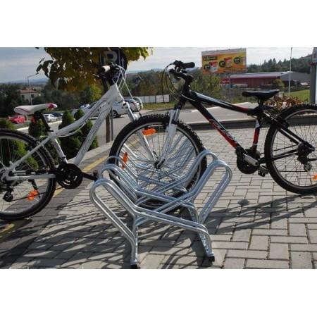 Stojak na rowery CROSS-6 dwustronny Krajowy Stojaki na rowery - 4store.pl