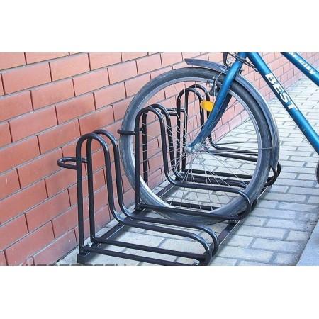 Stojak na rowery RAD-3 czarny Krajowy Stojaki na rowery - 4store.pl